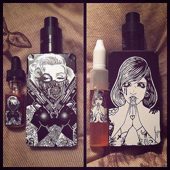 Vape - Vaping - Dampfen - Dampfe - e-zigarette - ecig - mechanical Box Mods - Dripper - Cloud Chaser - Suicide Bunny Ejuice Available at  http://www.voomvape.com/category/e-juice