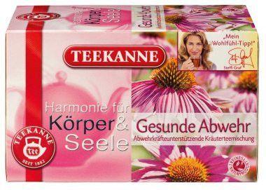 -in USA- Teekanne Healthy Defense - herbal tea- 20 tea bags - Made in Germany