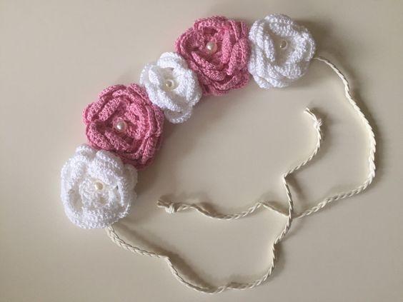 A personal favorite from my Etsy shop https://www.etsy.com/listing/267540183/crochet-flower-headband-flower-crown