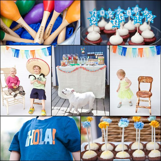 Cinco de Mayo themed birthday party