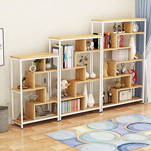 Xiao Min Bookshelf Modern Minimalist Bookcase Display Cabinet Flower Stand Floor Bookcase P Minimalist Bookcase Home Office Furniture Furniture Bookshelves