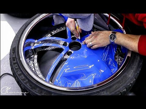 15 Minutes How To Wrap Wheel Faces Like A Pro Using Gloss Riviera