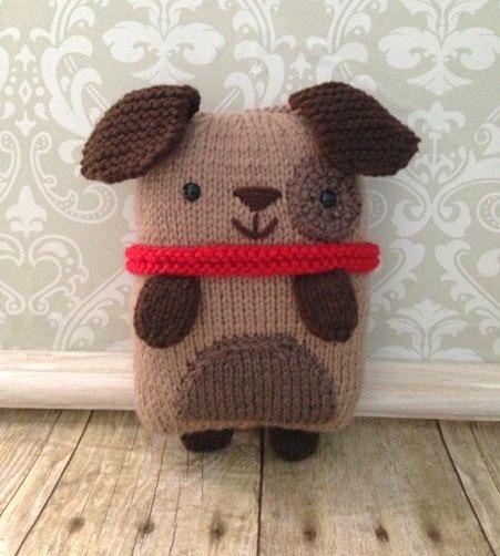 Amigurumi Knit Puppy Pattern von AmyGaines auf Etsy