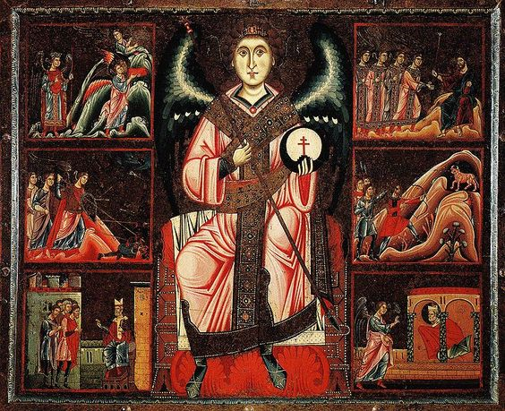 September 29-The Feast of Sts. Michael, Gabriel, and Raphael  REVELATION 12:7-12a