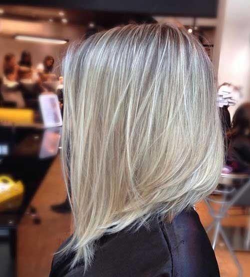 Frisuren blonde long bob