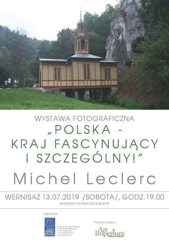 Michel LEclerc wystawa w Warszawie