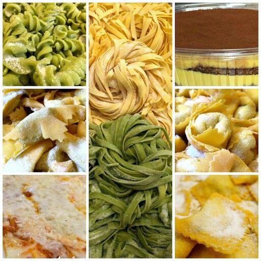 La nostra selezione classica per il week-end: tagliatelle, ravioli al branzino, lasagne e il nostro tiramisù! Le nostre hit rock'n'roll: cappellettoni al tartufo, caramelle all'ortica, fusilli e tagliatelle di spinaci! Buon week-end con #PastaFresca ;)  Per info e prenotazioni  02-4233127  www.lamiapastafresca.it