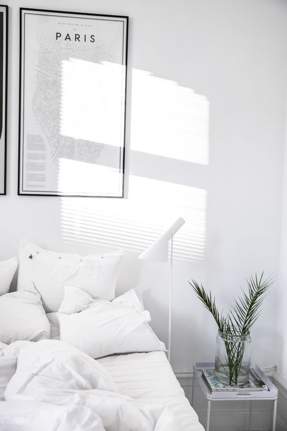 white bedroom Loved by chicncheeky.com.au