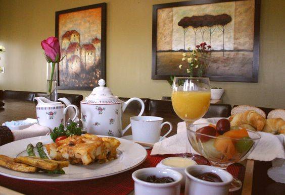 In Oct 2012, a German couple stayed 12 days at our B & B and had these breakfasts:  1- asiago crepes with turkey breast, egg  2- veggie omelette + backbacon  3- salmon & cream cheese omelette  4- apple pancakes + bacon    5- roast peppers on scrambled egg +  sausage    6- turkey & cheese omelette  7- baked french toast, bacon  8- asparagus egg puff, ham  9- corned beef omelette  10- sweet sausage + egg + rice     11- berry crepes + backbacon  12- herbs & avocado scrambled eggs + smoked…