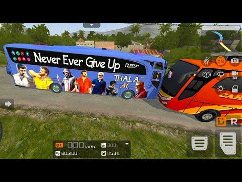 Thala Ajith Sticker Bus 3d Bus Simulator Android Game Youtube Android Games Youtube Monster Trucks