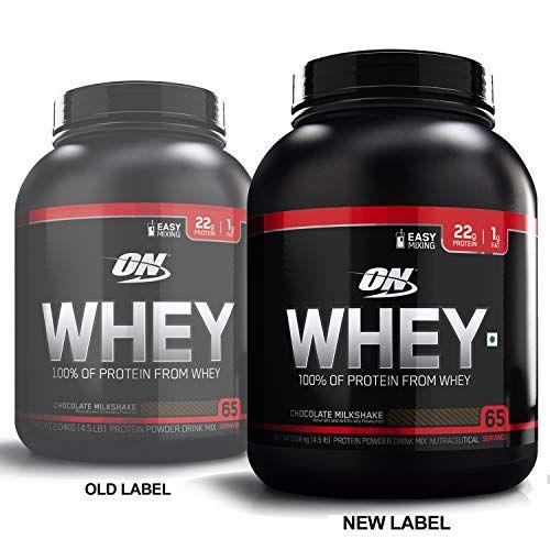 Optimum Nutrition On 100 Whey Protein Powder 4 5 Lbs