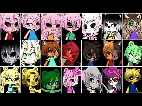 Piggy All Jumpscares Gacha Life Version Inspired By Brizia1994 Gachabri Youtube Piggy Cute Drawings Drawings
