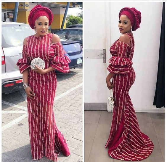 Latest Ankara Aso Ebi Styles 2019 Check Out 100 Classy And Stylish Aso Ebi Ankara Styles Fo African Attire African Fashion Dresses African Traditional Dresses