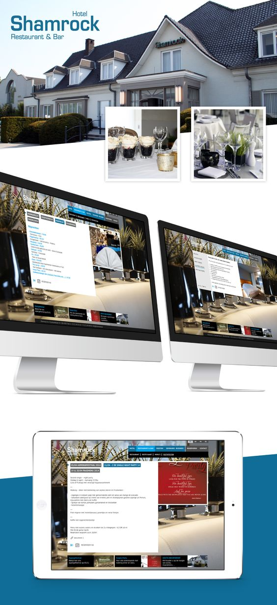 Nieuwe website voor Shamrock Tielt - Bekijk deze op www.shamrock.be