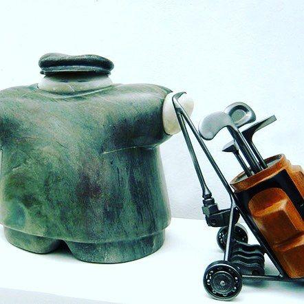 Meet our artists: Marcelo Wong #artwelove #fineart #sculpture