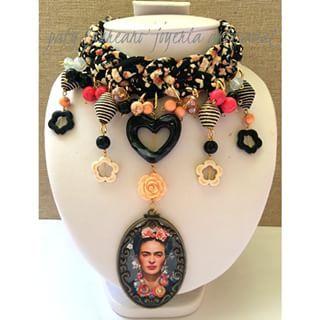 Collares De Moda 2015, Collares De Moda Juveniles, Frida Collares, Collares Estilo, Bisutería Joyas, Collares Artesanales, Preciosas Manualidades,
