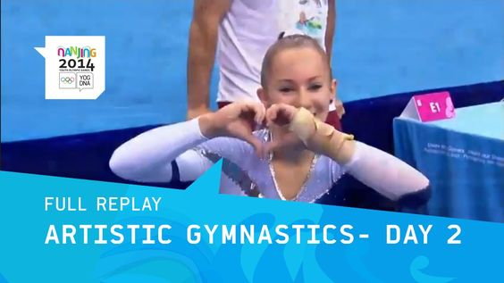 Artistic Gymnastics Qualifications Women | Full Replay | Nanjing 2014 Yo...