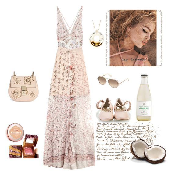 """The Sound of Silence"" by juliabachmann ❤ liked on Polyvore featuring Etro, Roberto Cavalli, Benefit, Attilio Giusti Leombruni, L'Oréal Paris and Chloé"