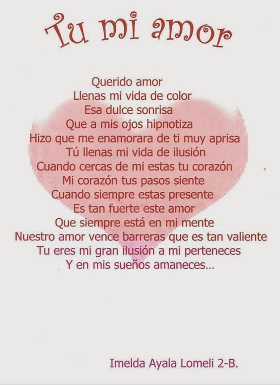 Cartas Romanticas Para Enamorar
