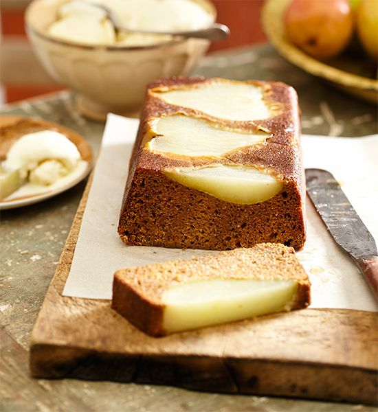Pear and gingerbread loaf | Fall ideas | Pinterest | Gingerbread ...