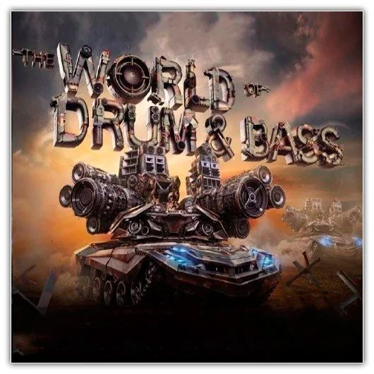 VA - WORLD OF DRUM AND BASS TOP 100 November 2017 VOL. 2 (2017)