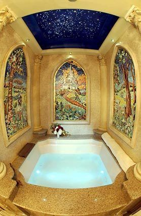 Disney's Cinderella Castle Suite... amazing bathtub!