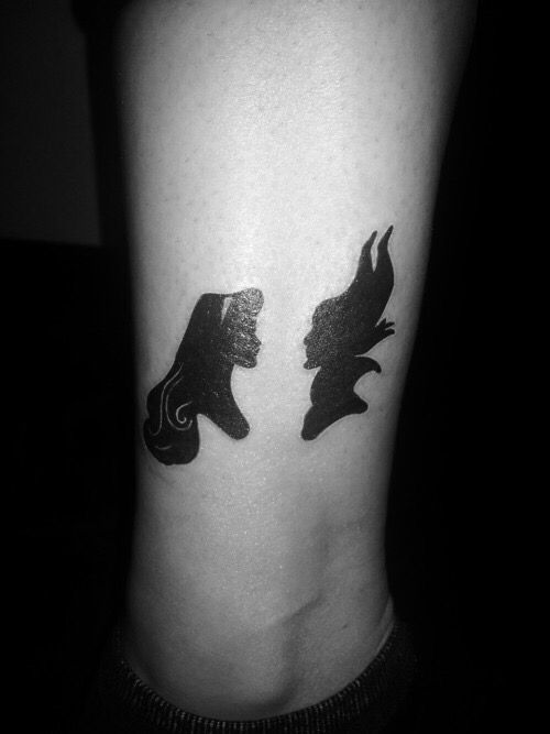 Maleficent and sleeping beauty tattoo ideas