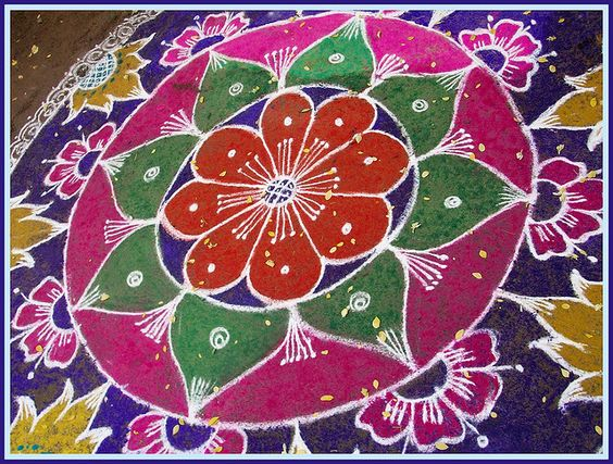 Kolams and Rangoli 2010 by Chella Vaidyanathan, via Flickr