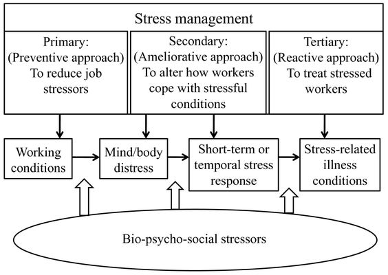 Stress and Burnout Endanger Clergy Health Pastoral Care - stress management chart