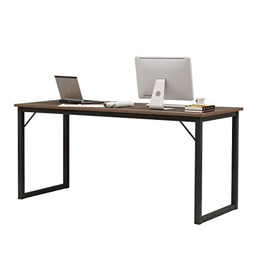 Soges 63 Inches Computer Desk Large Office Desk Computer Table