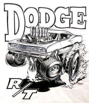 Ed Roth Dodge Charger Artist Rat Fink Pinterest