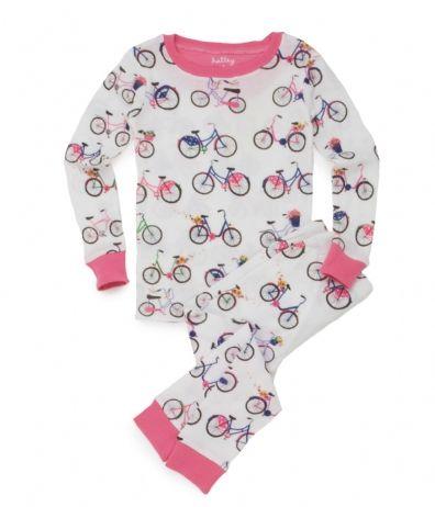 Hatley Store: Hatley Bikes Kids' Overall Print Pajama Set Thanks ...