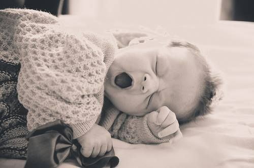 Bebê cochilando
