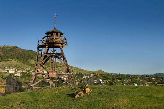 Guardian of the Gulch - Fire tower overlooking Helena, Montana