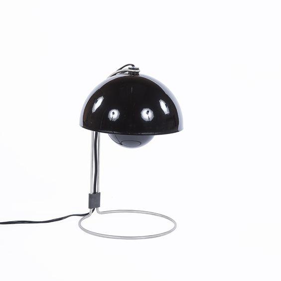 VP4 Flowerpot Table Lamp - Black  http://www.franceandson.com/modern-vp4-flowerpot-table-lamp-black.html