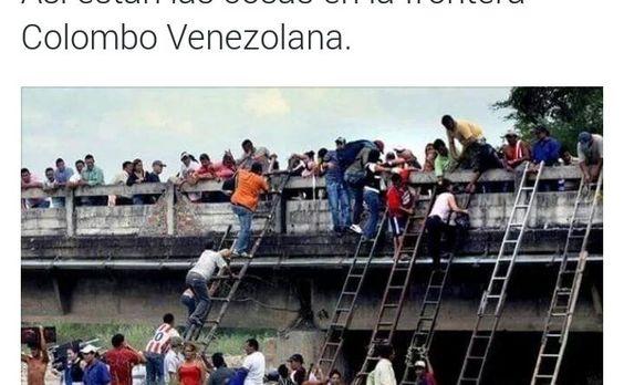 Hecho en Socialismo: Así esta la frontera con Colombia gracias al Donald Trump venezolano http://critica24.com/index.php/2015/08/24/hecho-en-socialismo-asi-esta-la-frontera-con-colombia/
