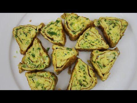 Resep Telur Dadar Segitiga Youtube Food Avocado Recepies