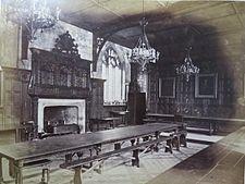 Original Medieval Dining Hall of Pembroke College, Cambridge
