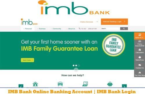 Imb Bank Online Banking Account Imb Bank Login Tecteem Online Banking Bank Loan Personal Loans Online