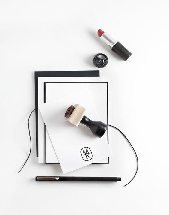 Great monogram stamps by Bespotted