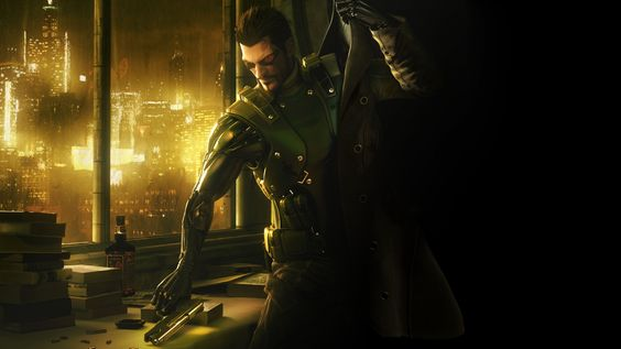 General 3840x2160 Deus Ex Deus Ex: Human Revolution Adam Jensen video games