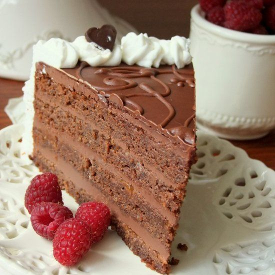 Chocolate Cake- It is all about chocolate! (in Serbian with translator)