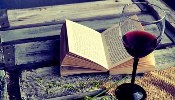 Papo Com a Gu: Um bom livro e um bom vinho são melhores do que mu...