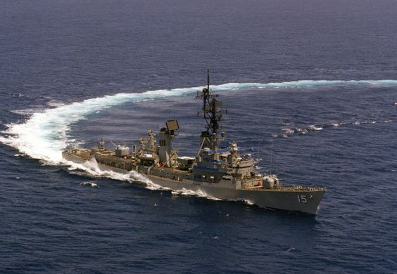 My second duty station-USS Berkeley DDG-15