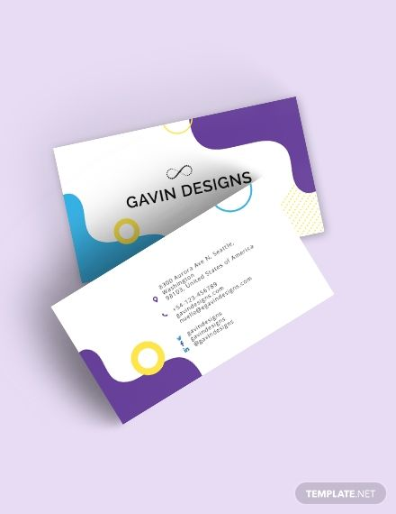 Creative Business Card Template For Designers Word Doc Psd Apple Mac Pages Illustrator Publisher Examples Of Business Cards Business Cards Creative Business Cards Creative Templates