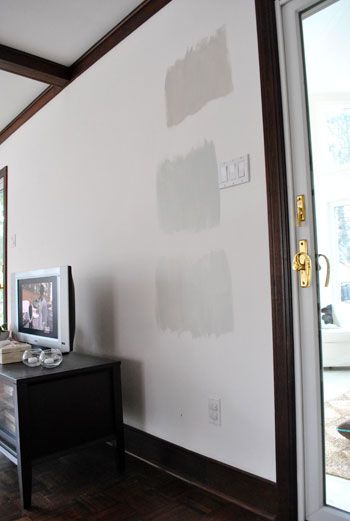 Choosing grey paint