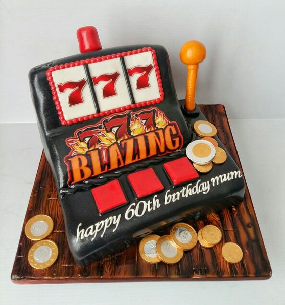 Slot machine cake                                                       …