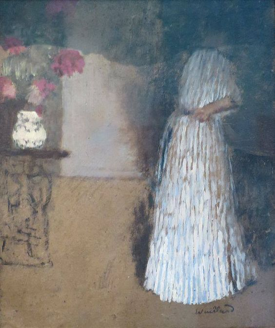 ALONGTIMEALONE: Vuillard, Young Woman in a Room, Hermitage, ca...