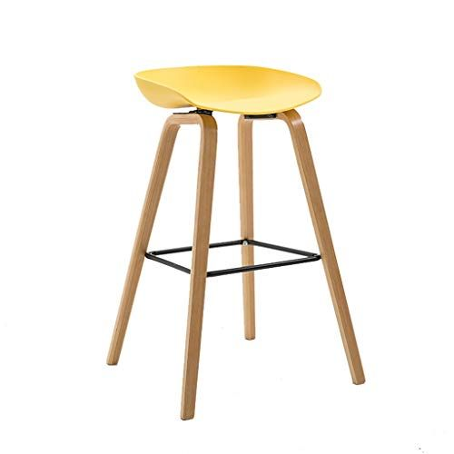 Bar Stool High Stool Barstools Chair Footrest With Ergonomic Seat