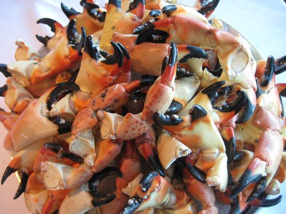 The Key Largo Stone Crab and Seafood Festival is this coming weekend...(last weekend in Jan